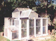 Greenhouse built by a 15-year-old